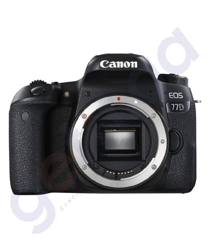 BUY CANON EOS 77D IS 18-55MM LENS DSLR ONLINE IN DOHA QATAR