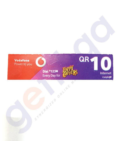 SHOP FOR VODAFONE INTERNET CARD 10 ONLINE IN QATAR