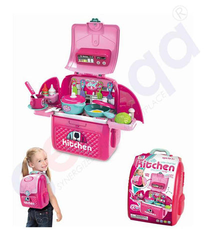 Buy 2-in-1 Little Kitchen Play Set 008-961A in Doha Qatar