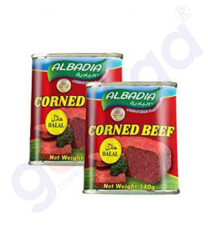 AL BADIA CONRED BEEF 340GM TWIN PACK