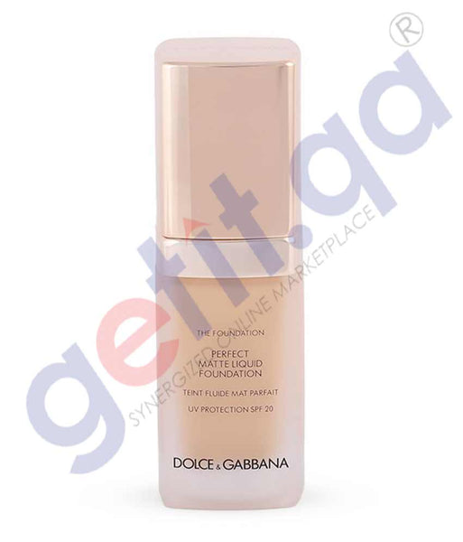 GETIT.QA | Buy Dolce & Gabbana Matte Liquid Foundation Creamy in Doha Qatar
