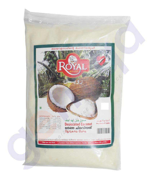 Buy Royal Desiccated Coconut 400gm Price Online Doha Qatar