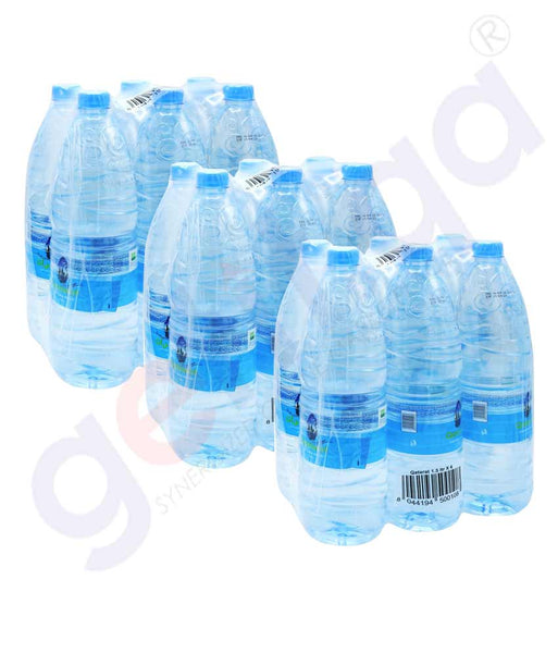 Buy Qatarat Water 1.5LtrX18 Bottle Price Online Doha Qatar