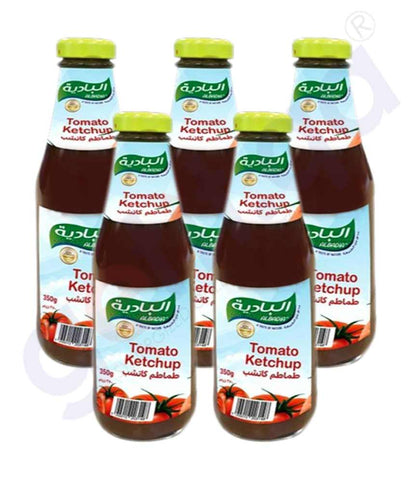 AL BADIA TOMATO KETCHUP 340GM GLASS BTL 6PCS
