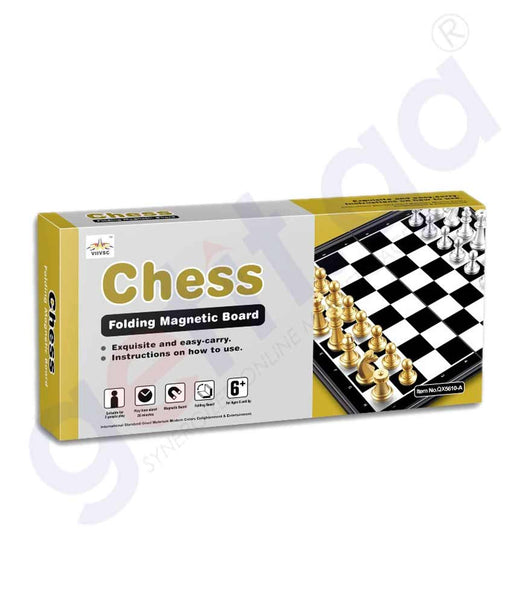 Buy QX Chess Magnetic Board QX5610A Price Online Doha Qatar