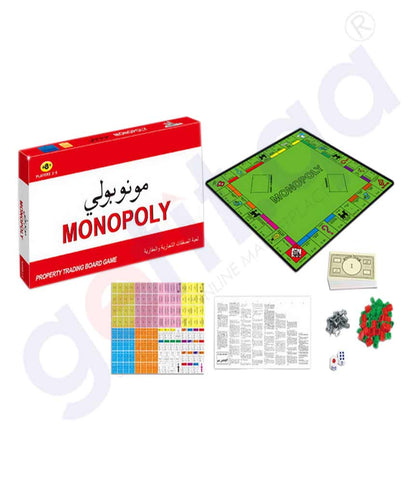Buy Monopoly Trading Board Game 55300A Online in Doha Qatar