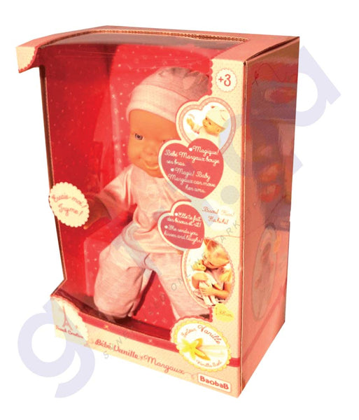 BUY BAOBAB BEBE VANILLE FUNCTION DOLL BABY KISS-113500 IN QATAR