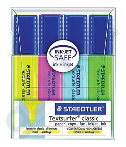 BUY STAEDTLER TEXTSURFER HIGHLTER WLT 4 COLOR - ST-364-WP04 ONLINE IN QATAR