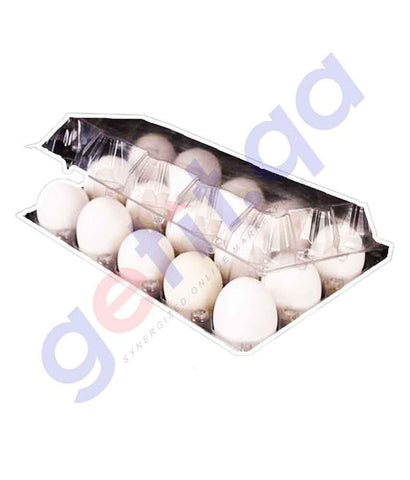 EGG - White Egg 15 Piece