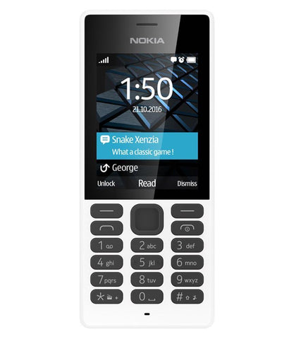 Feature Phones - NOKIA 150 - VGA CAMERA - WHITE