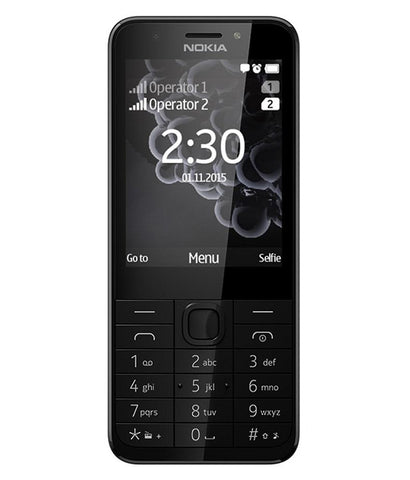 Feature Phones - NOKIA 230 - DUAL SIM - BLACK