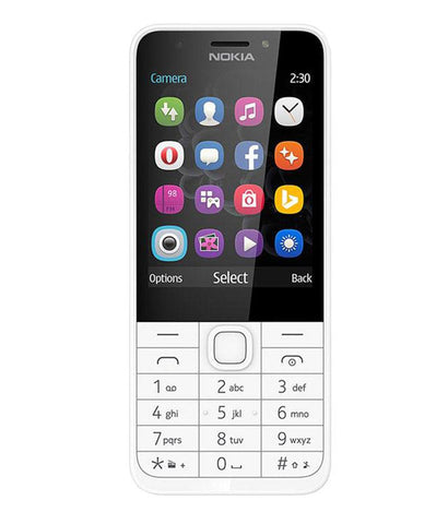 Feature Phones - NOKIA 230 - DUAL SIM - WHITE