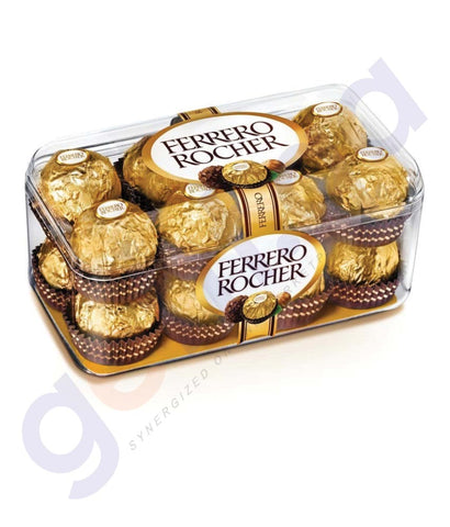 Buy Best Quality Ferrero Rocher Chocolate 200gm Online in Qatar