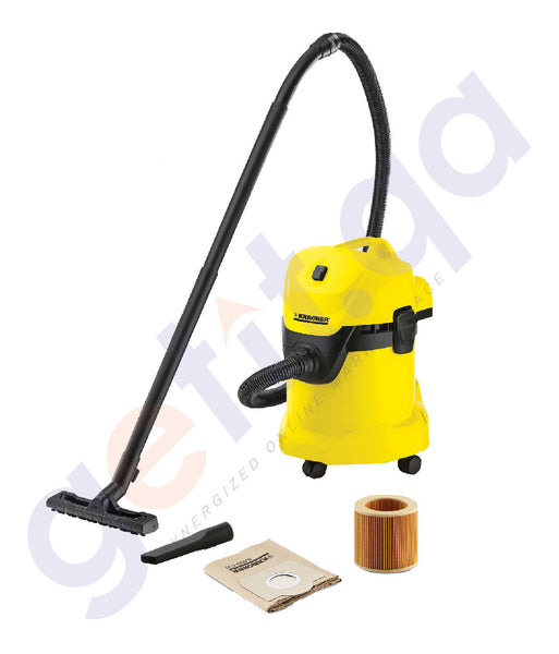 Buy Best Priced KARCHER MULTI-PURPOSE VACUUM CLEANER WD3 in Doha Qatar
