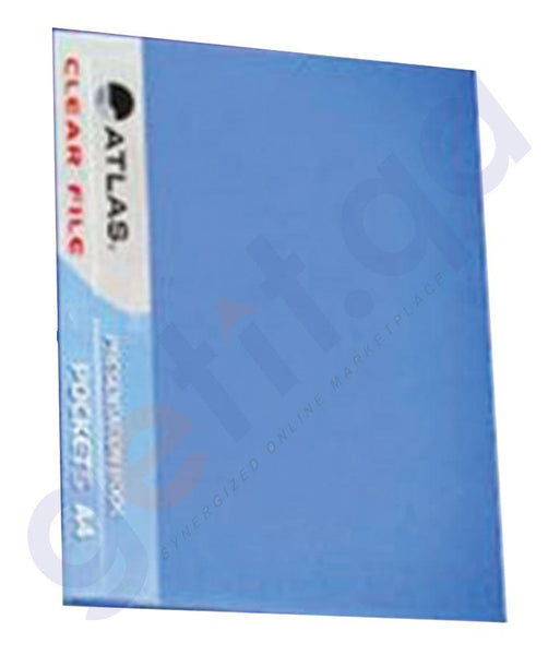 Files, Dividers & Folders - ATLAS CLEAR FILE A4 ASST.