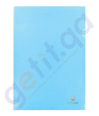 Files, Dividers & Folders - ATLAS CLEAR FOLDER PP A4  PACK OF 12