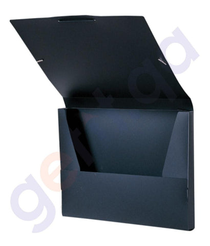 Files, Dividers & Folders - FOLDERMATE CARRY CASE A4 BLACK - FE-572-BK