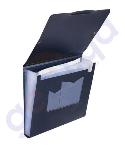 Files, Dividers & Folders - FOLDERMATE EXPANDING FILE A4 13 PKT BLACK - FE-575-BK