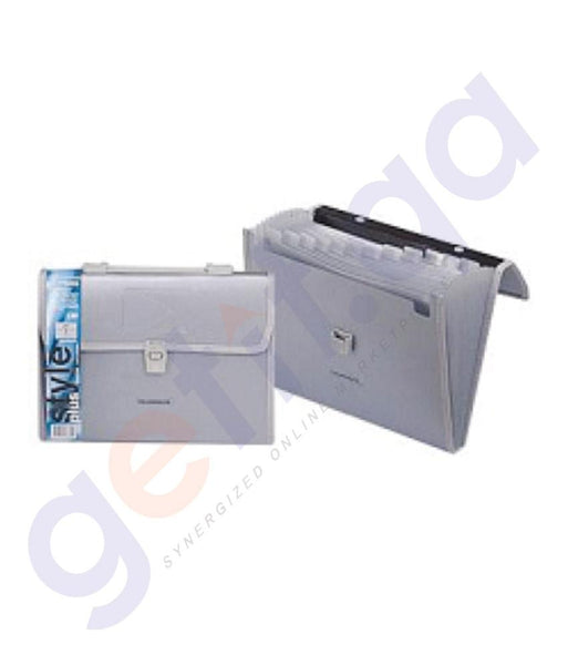 Files, Dividers & Folders - FOLDERMATE EXPANDING FILE BOX=10PCS - SPS - FE-138-SR