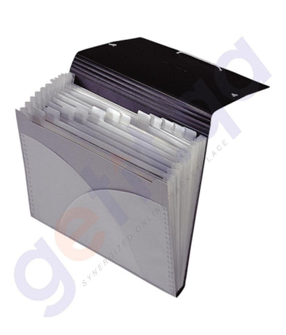 Files, Dividers & Folders - FOLDERMATE EXPANDING FILE W/ELAST BOX=10 -SPS - FE-137-SR