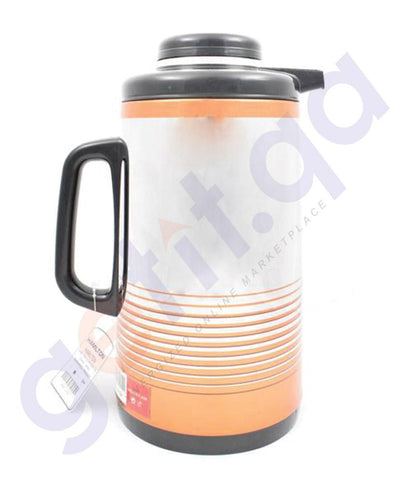 Flask - HAMILTON VACUUM FLASK HT107 1.0 LTR HOT AND COLD