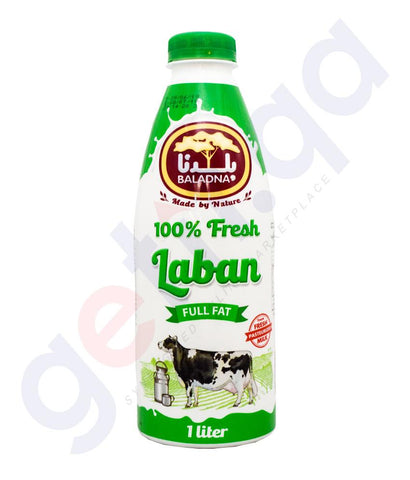 Buy Baladna Laban Full Fat 1ltr Price Online in Doha Qatar