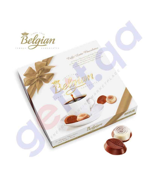 FOOD - BELGIAN CAFE LATTE CHOCTE 200 GMS