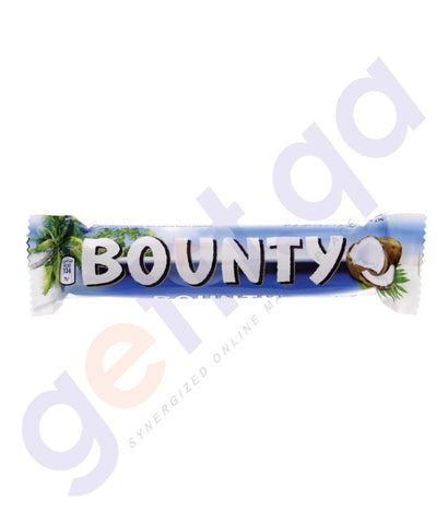 FOOD - BOUNTY CHOCOLATE 55GM