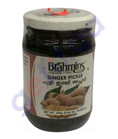 FOOD - Brahmins Ginger Pickle Bottle