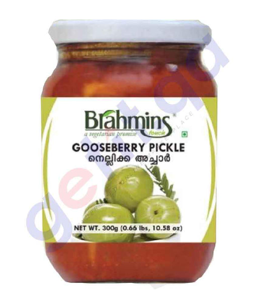 FOOD - Brahmins Gooseberry Pickle Btl