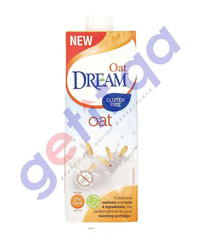 FOOD - DREAM Oat Gluten Free Organic 1 LTR