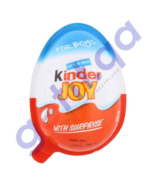 FOOD - KINDER JOY RICH IN MILK