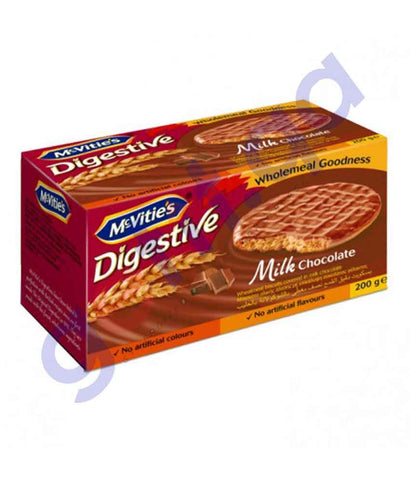 Buy MC-Vities Digestive Milk Chocolate Biscuit Online Qatar