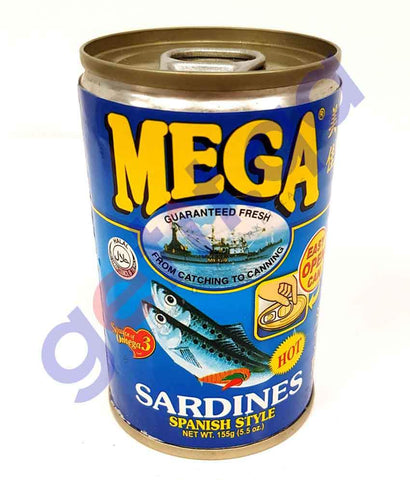 FOOD - MEGA  SARDINES IN SPANISH STYLE 155G