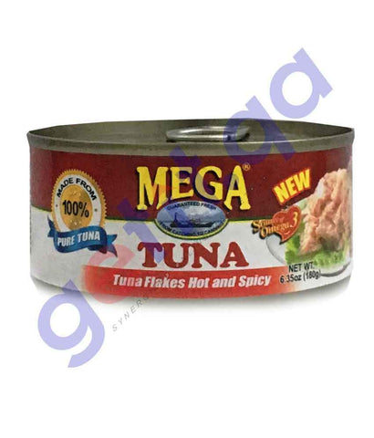 FOOD - MEGA Tuna Flakes In Hot & Spicy 180 Gm