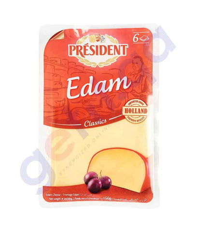 FOOD - PRESIDENT EDAM CHEESE SLICE