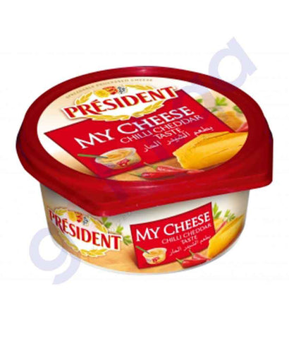 FOOD - PRESIDENT MY CHEESE SPRD CHILLI CHEDD