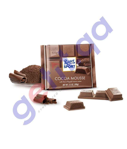 FOOD - RITTER SPORT CHOCO MOUSSE 100 GM