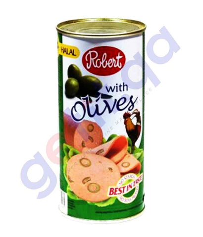 FOOD - Robert Chicken Luncheon Meat - With Green Olives