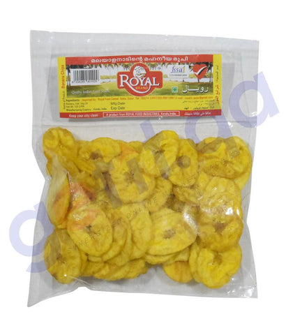 FOOD - Royal-Banana-Chips 125gm