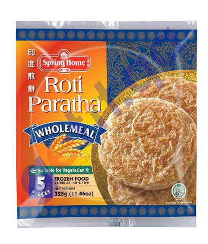 FOOD - SPRING HOME 5 WHOLE MEAL PARATHA 320GM
