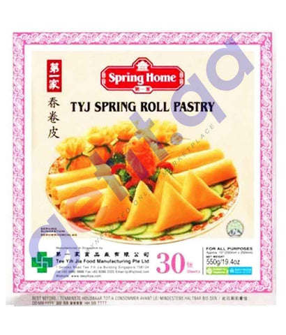 FOOD - SPRING HOME PAS PLAIN S / ROLL 10''30 SHEETS