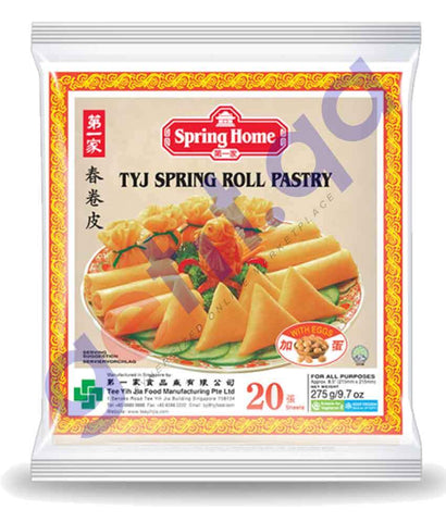 FOOD - SPRING HOME PASTA PLAIN S/ ROLL 8.5''20 SHEETS