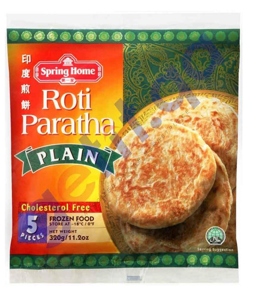 FOOD - SPRING HOME PLAIN ROTI PARATHA 320GM