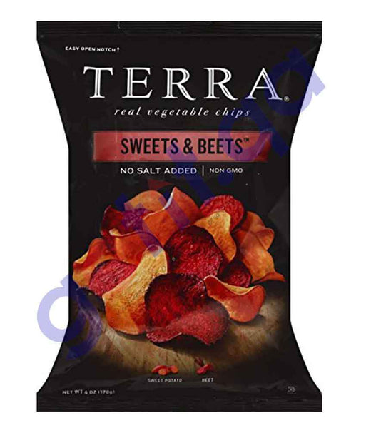 FOOD - TERRA SWEETS & BEETS NO SALT 170GM