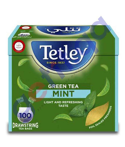 FOOD - Tetley Green Tea Mint