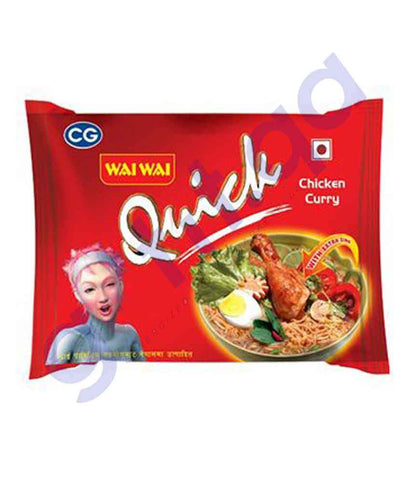 FOOD - WAI WAI CHICKEN CURRY FLAVOUR 70 GM(5PACK)