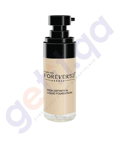 FOUNDATION CREAM - FOREVER52 HIGH DEFINITION LIQUID FOUNDATION
