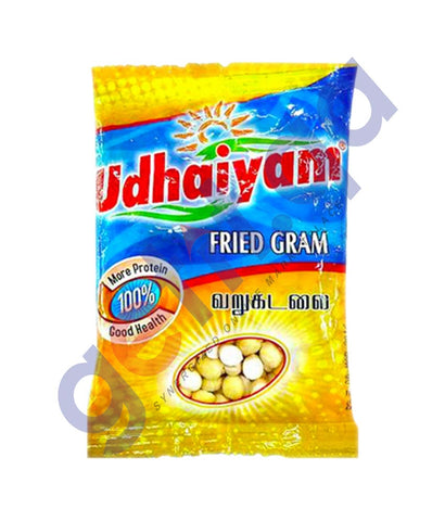 Buy Udhaiyam Fried Gram Dhall 500gm/1Kg Online in Doha Qatar