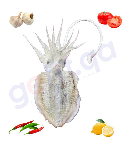 Fresh Fish - KHATHAQ - خثاق - CUTTLE FISH ( WHOLE FISH )